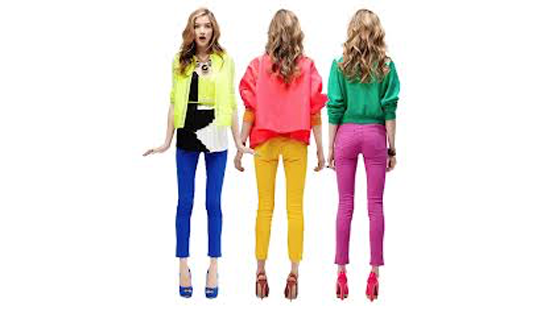 Clothing Colour Suits Best