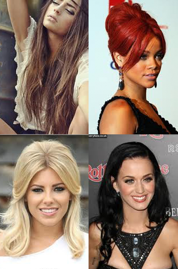 Different Hair Colour